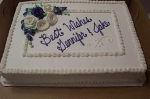 sheet wedding cakes wedding sheet cakes wedding sheet cake anniversary bridal shower cake