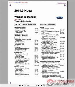 Auto Repair Manuals  Ford Kuga Mk1 2011 Workshop Manual   Wiring Diagram