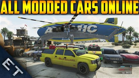 How To Get All Modded Vehicles Online! (gta