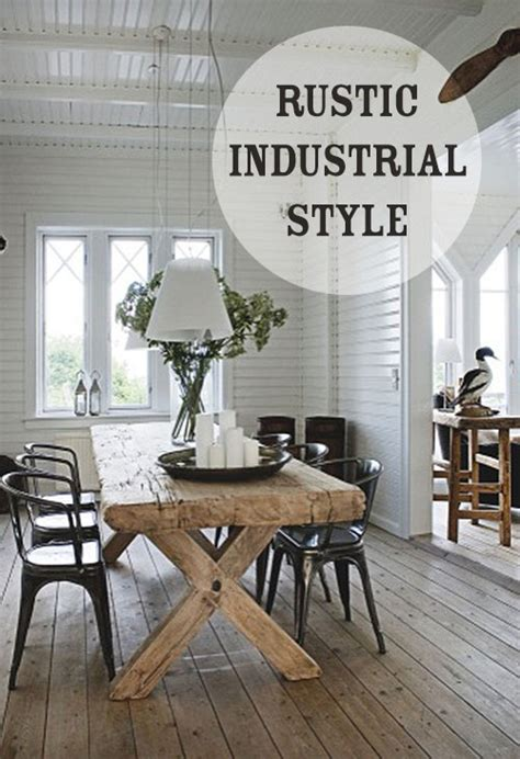 industrial decor industrial farmhouse chic 25 ways to incorporate Rustic