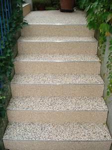 Außentreppe Baugenehmigung Nrw : treppen steindesign kieselbeschichtung steinteppich ~ Lizthompson.info Haus und Dekorationen