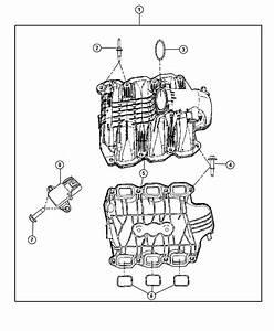 Dodge Nitro Manifold  Manifold Kit  Engine Intake  Intake