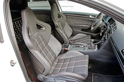 volkswagen golf gti clubsport  interior autocar