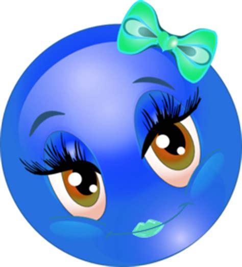 color wheel  cute lovely girl smiley emoticon clipart