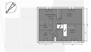 avis sur plan maison rdc1 107m2 hors cellier 16 With nice plan de maison a etage 8 plan dimplantation de la maison sur le terrain