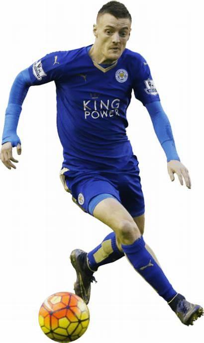 Vardy Jamie Player Render Soccer Football Leicester