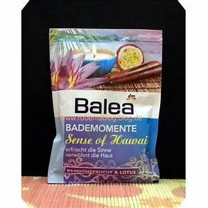 Was Kostet Ein Vollbad : test badezus tze balea bademomente sense of hawaii passionsfrucht lotus testbericht ~ Eleganceandgraceweddings.com Haus und Dekorationen