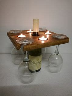 wooden wine glasses holder wood projects