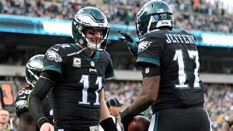eagles bears thoughts playoff implications  chicago