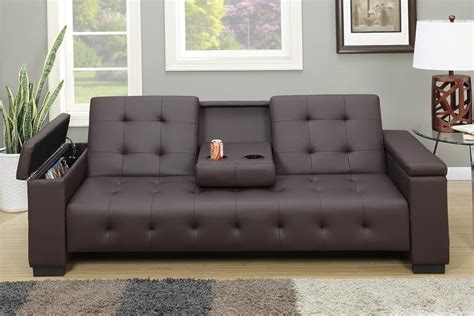 Leather Sofa Bed by Brown Leather Sofa Bed A Sofa Furniture Outlet Los