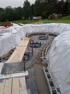 Geotextile Sous Gravier : fondations du bassin les na ades ~ Premium-room.com Idées de Décoration