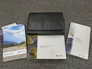 2011 Subaru Legacy Owner Manual User Guide Cvt 2 5i