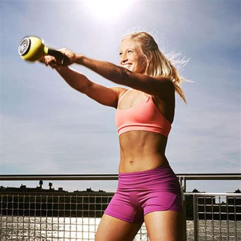 kettlebell workout minute hit hiit grip fitness workouts fitnessmagazine kettlebells weight exercises bell training routines collect jump loss less results