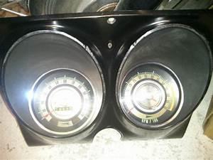 Find 1968 Camaro Speedometer Tic Toc Tach Gauge Cluster