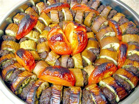 kebab cuisine patlican kebab eggplant kebab a traditional dish