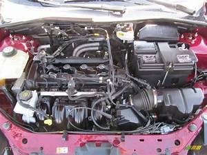 2007 Ford Focus Zx4 S Sedan Engine Photos