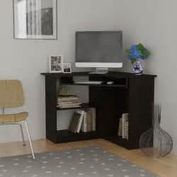 essential home berkley corner desk espresso