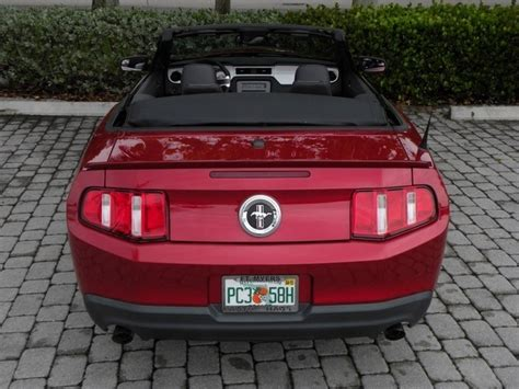 ford mustang  premium convertible pony package