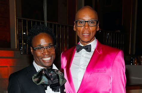 Billy Porter Wasn Giving Rupaul Side Eye The Emmys