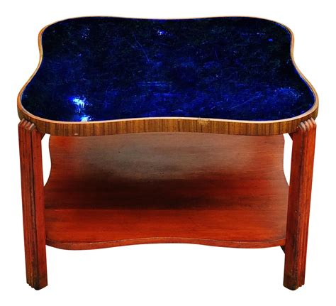small accent chairs with deco cobalt blue glass mirror coffee table chairish