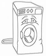 Appliances Coloring Pages Appliances2 sketch template