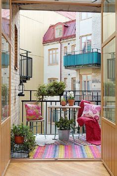 Small Apartment Zinging With Color by 76 Best Porches Patios Images In 2012 Outdoors Glass