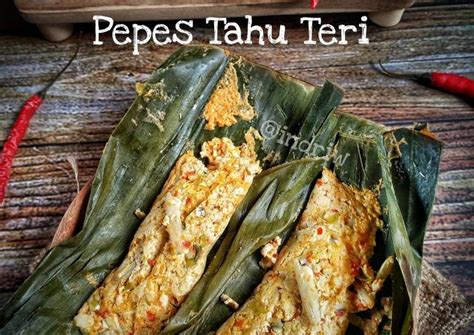 Resep pepes tahu paling spesial enak dengan pelengkap daun kemangi. Resep Pepes Tahu Teri : Buat Pepes Jadi Mudah Dengan Resep ...