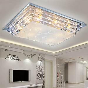 Modern minimalist ceiling light e crystal led