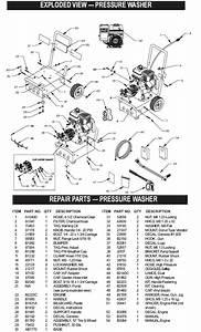 Generac Pressure Washer Model 1043