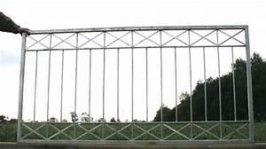 gartenzaun metall modern zaun zaune balkon crossline z100 With französischer balkon mit gartenzaun tor metall