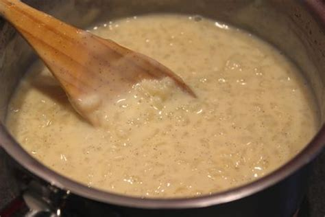 cuisiner le riz riz au lait traditionnel à la vanille pour ceux qui