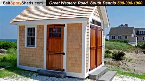 Boat House Nantucket by Salt Spray Sheds Nantucket Boat House