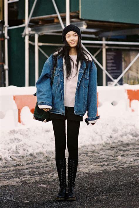 Spotted Oversized Denim Jackets u2013 Honestly WTF