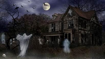 Haunted Background Wallpapers Halloween Spirits Desktop Iphone