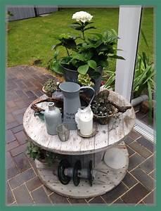 Tisch Aus Kabeltrommel : die 25 besten ideen zu kabeltrommel auf pinterest terrassen shabby chic lounge und veranda ~ Orissabook.com Haus und Dekorationen