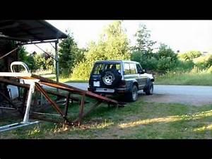 Pont Elevateur Voiture Mobile : pont l vateur automatique pour 4x4 youtube ~ Medecine-chirurgie-esthetiques.com Avis de Voitures