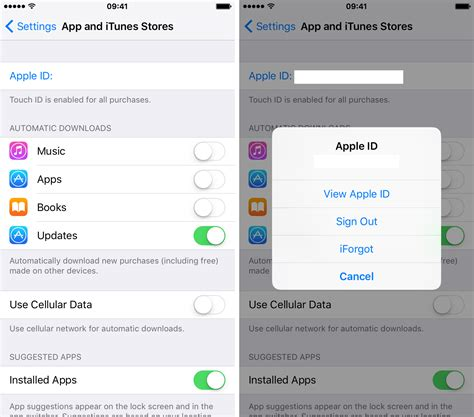 how to remove itunes account from iphone how to delete your apple id