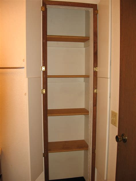 Furniture Remarkable Corner Closet Shelves To Perfecting
