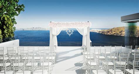 weddings  le ciel santorini wedding event venue le