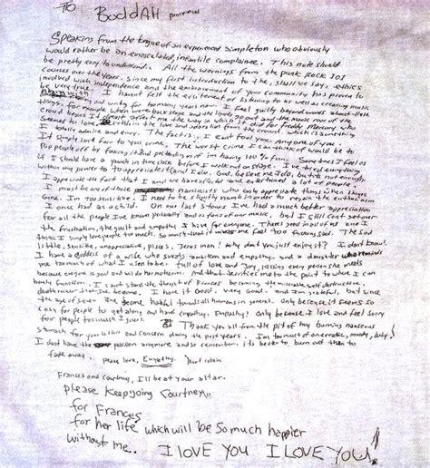 kurt cobain letter kurt cobain letter tomyumtumweb 22673 | ideas of kurt s suicide note 1994 you rock my world pinterest unique kurt cobain suicide letter of kurt cobain suicide letter