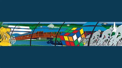 bureau vallee laval une immense fresque à place bureau pour la 3e édition des