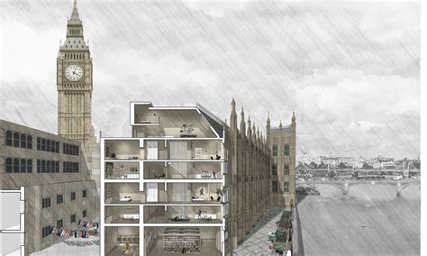 draw a floor plan westminster palace restoration and renovation hok