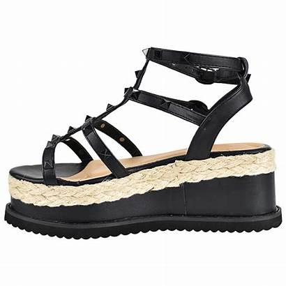 Sandals Strappy Wedge Gladiator Platform Shoes Heel