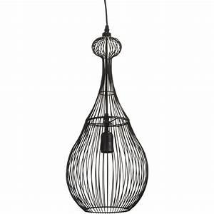 Suspension Luminaire Leroy Merlin : suspension zagora seynave noir 60 watts diam 25 cm ~ Melissatoandfro.com Idées de Décoration