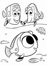 Dory Finding Coloring sketch template