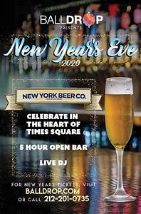 New Years Eve at New York Beer Company | NYC New Years Eve 2021