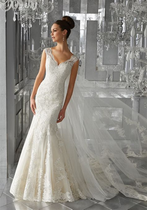 monet wedding dress style  morilee