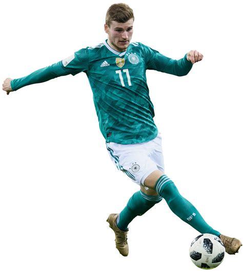 Timo Werner football render - 44693 - FootyRenders