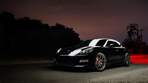 Vorsteiner Porsche Panamera Carbon Graphite Wallpaper Hd