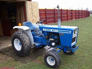 Ford 1500 Utility Tractor